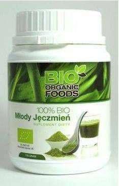 100% BIO Młody jęczmień 300g (sproszkowany sok) - Bio Organic Foods