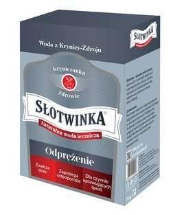 """Krynica-Zdrój """"SŁOTWINKA"""" - 5 l - Naturalna mineralna woda lecznicza z uzdrowiska - Szczawa silnie hipoosmotyczna"""
