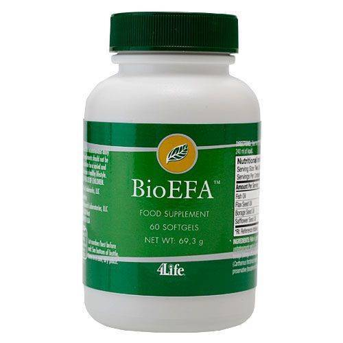 4Life BioEFA™ (60 kaps.) - Suplement diety 4Life Research, USA